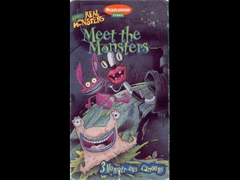 aaahh real monsters meet the vhs
