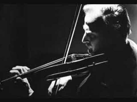 Menuhin plays Bach Sonata No. 6 in G, BWV 1019 - Part 1/5