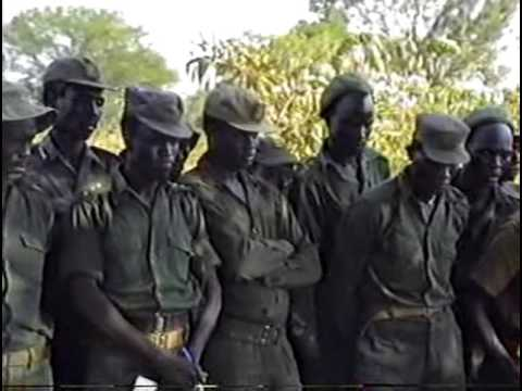 The SPLA forces in Front-line for Rumbek attack under Salva Kiir Mayardit part.2