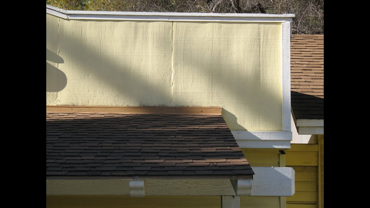 How To Cover Damaged Plywood Siding Joints Home Repair
