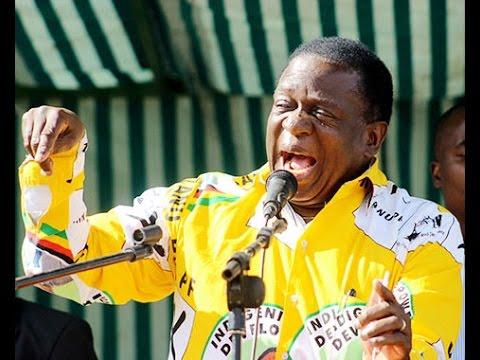 VP Mnangagwa, I left Zapu to Join a Party of Rebels Zanu PF