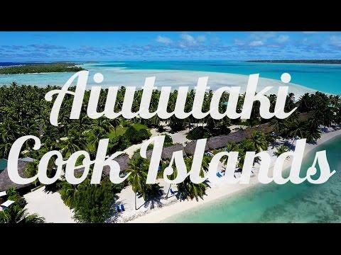 Aitutaki, Cook Islands, Aerial Drone Video