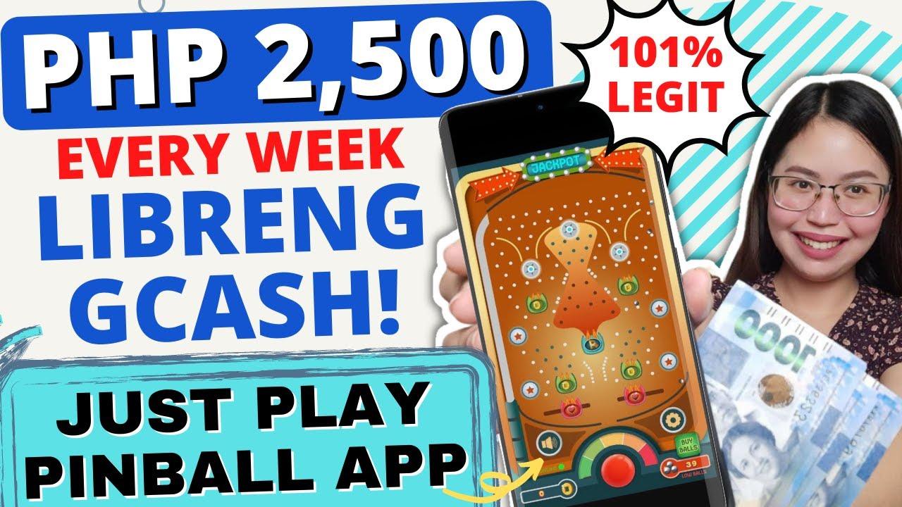 Download FREE GCASH P2,500/week | NO INVITE PROGRAM LARO LANG NG PINBALL SA PHONE | PAYOUT via GCASH