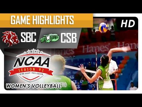 CSB vs SBC   Semi Finals Game Highlights   NCAA 92 Women