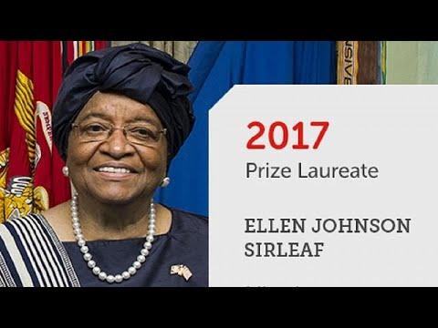 Liberia's ex-president Sirleaf wins $5m African leadership prize