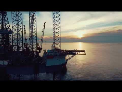 COSL Asian Endeavour-1 Rig Jack Up at PHKT North Offshore Area - STA Field September 2020