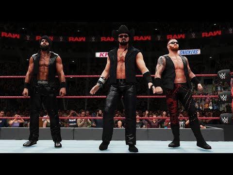 WWE 2K18 3MB Reunited! (McIntyre, Mahal & Slater Custom Entrance)