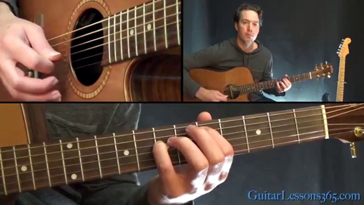 Pearl Jam Daughter Guitar Lesson Acoustic Chords Youtube