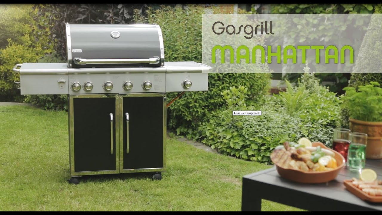 Tepro Gasgrill Denver Test : Tepro gasgrill manhattan youtube