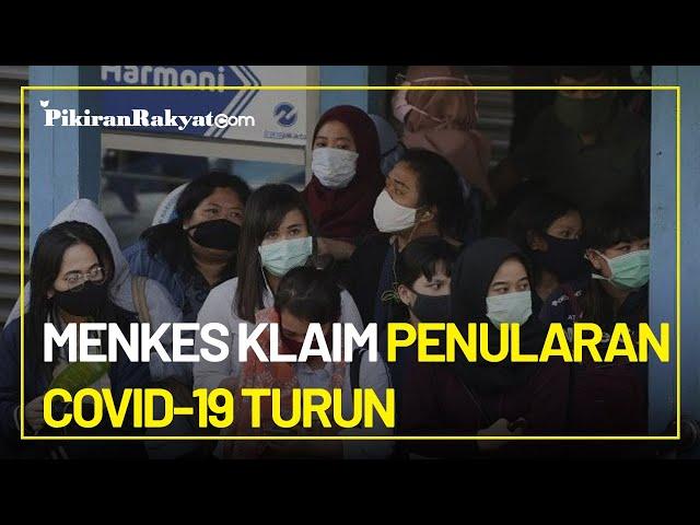 Meski Positivity Rate Masih Tinggi, Menkes Klaim Tren Penularan Covid-19 di Indonesia Turun