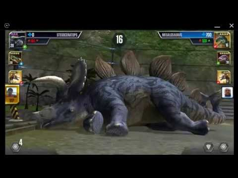Jurassic World: The Game - Player Duel Battle 708 - TANYCOLAGREUS VS TANYCOLAGREUS!