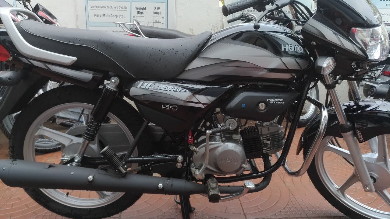 Hero Hf Deluxe Black Edition 2019 Price Mileage Detailed Review Must Watch By Saurabh Custom And Vlogs