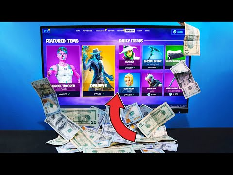 Every Death I BUY From The Item Shop In Fortnite