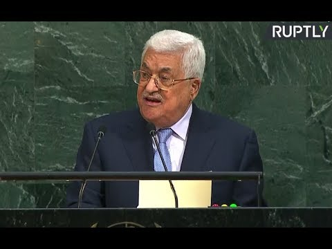 LIVE: President of the State of Palestine Mahmoud Abbas addresses UNGA