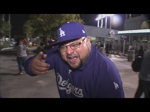 Dodgers fans react to Game 6 win against Astros in World Series 2017