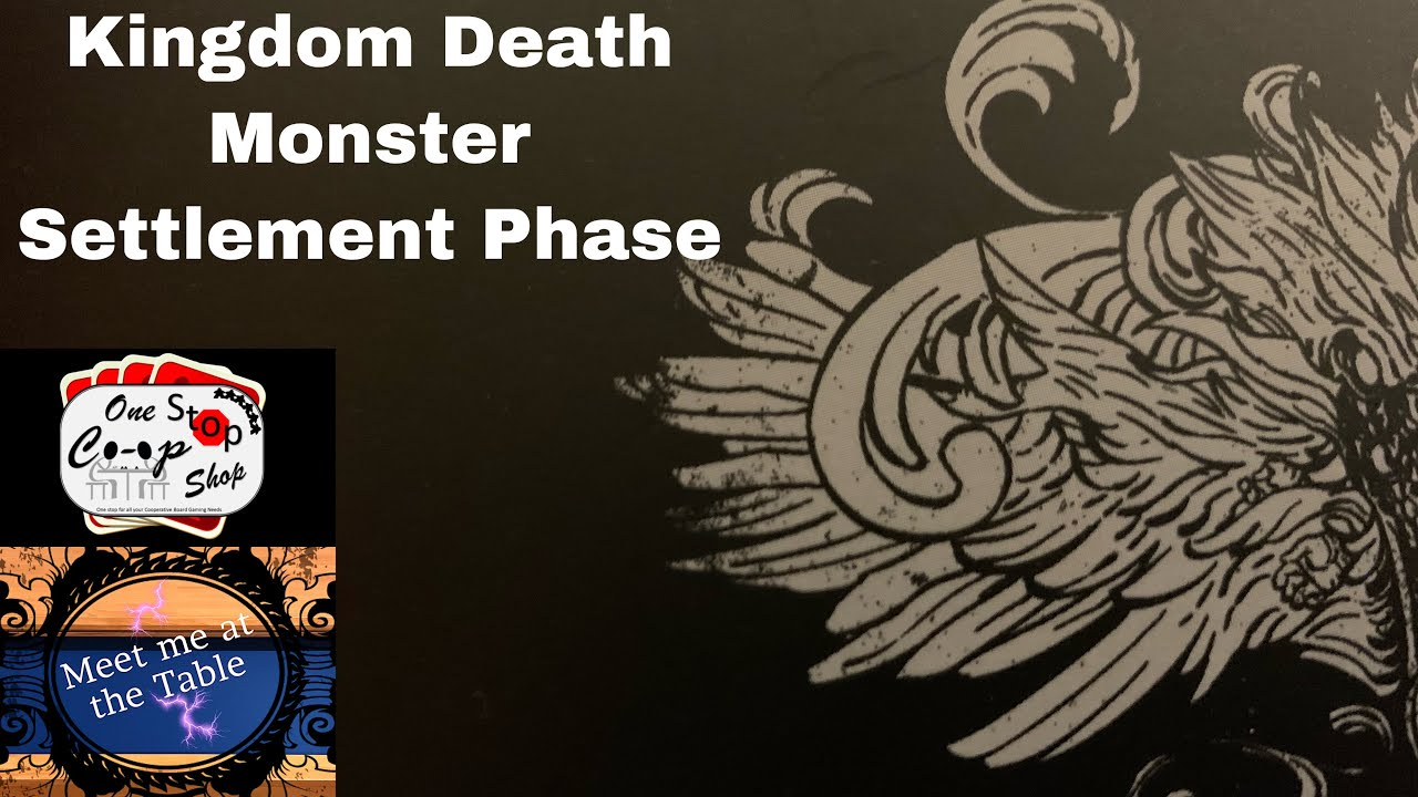 Kingdom Death Settlement phase lantern Year 13