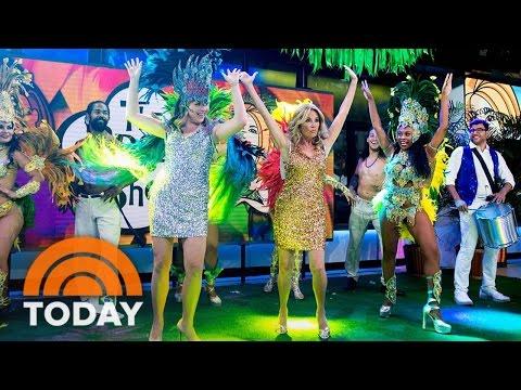 KLG And Jenna Bush Hager Learn To Samba Rio-Style | TODAY