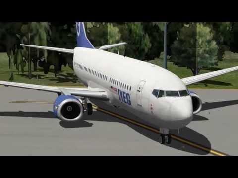 X-Plane 10.50 | IXEG B737-3 | Nauru - Brisbane