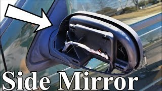 How to Remove a Door Pannel and Replace Side Mirror, Trailblazer and Envoy