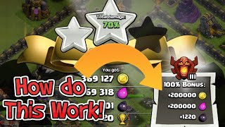How do Clash of Clans League Bonuses Work! | Clash of Clans TH11 Update!