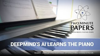 DeepMind's AI Learns The Piano From The Masters of The Past