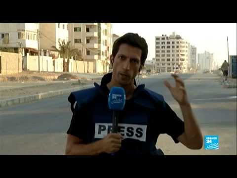 "Shejaiya residents recall ""massacre"" as Israel and Hamas battle (Gallagher Fenwick, in Gaza City)"