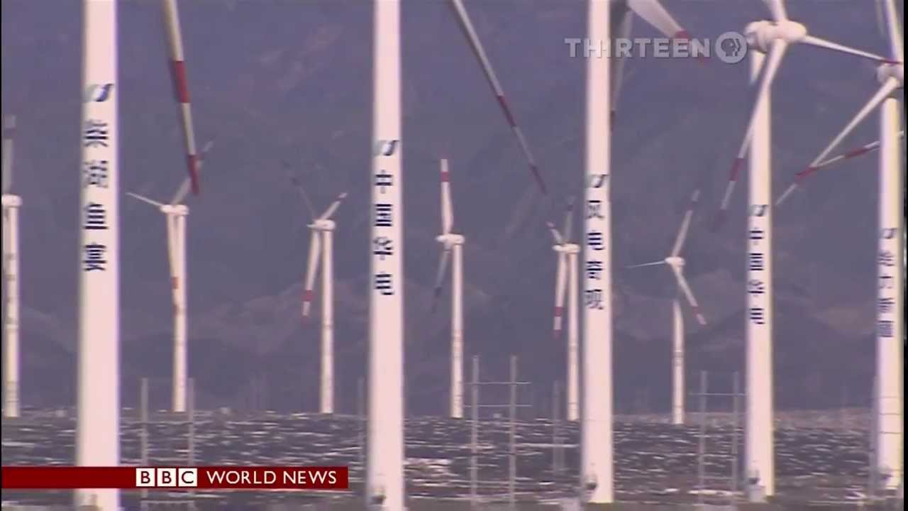 World's 'biggest push' for wind power in China | FunnyCat.TV