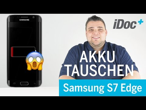 Galaxy S7 Edge - Akku tauschen / battery replacement