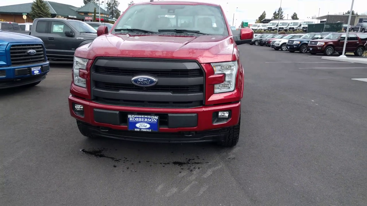 2017 f150 lariat sport appearance package ruby red youtube. Black Bedroom Furniture Sets. Home Design Ideas
