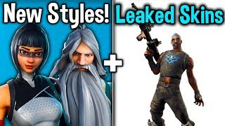ALL FORTNITE v9.40 SKINS LEAKED! Wolfpack 2.0! New Skins + MORE! (Fortnite Battle Royale)