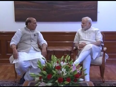 Delhi: Meeting underway with PM Modi at 7RCR; HM Rajnath Singh, Defence Minister and NSA p