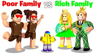 POOR Family vs RICH Family🤑😭 (Roblox)