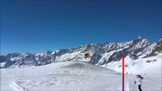 Intervento Di Soccorso Del Bell 429 Air Zermatt A Cervinia