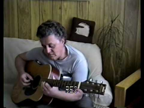 Younger Baker Man on Acoustic guitar 1995