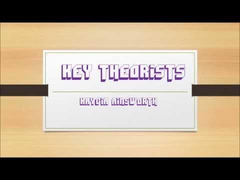 A2 Media Key Theorists