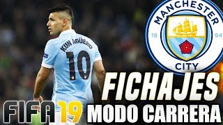 FIFA 19 Modo Carrera ''Manager'' Manchester City  - ¡¡FICHAJES GALÁCTICOS!!  - EP 1