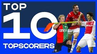 TOP 10 | Topscorers Eredivisie