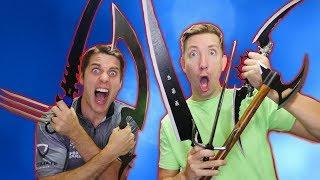 Ninja Weapon WORLD RECORD with CHAD WILD CLAY!