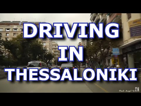 Driving in Thessaloniki