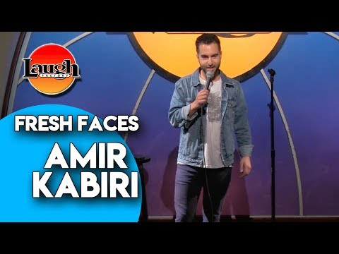 Amir Kabiri | New Yorkers and Dad's Plans | Laugh Factory Stand Up Comedy