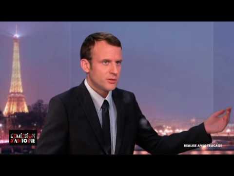 Emmanuel Macron humilie Manuel Valls !  😂