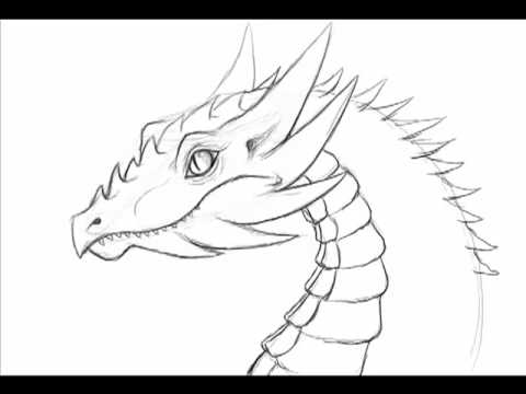 How To Draw A Dragon Easily