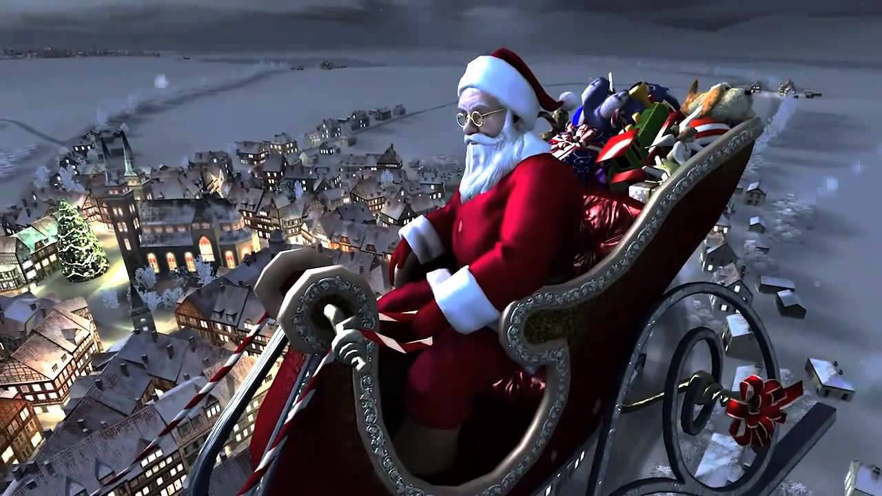 best santa claus screensaver ever free 3d christmas santa