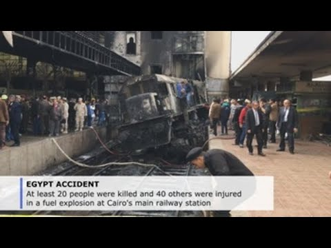 Egypt Officials: 20 Killed In Fuel Explosion At Cairo's Main Railway Station