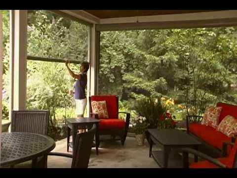 manual patio retractable screen stoett screens