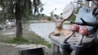 видео База отдыха на берегу Катуни