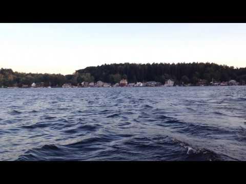Out on Saratoga Lake