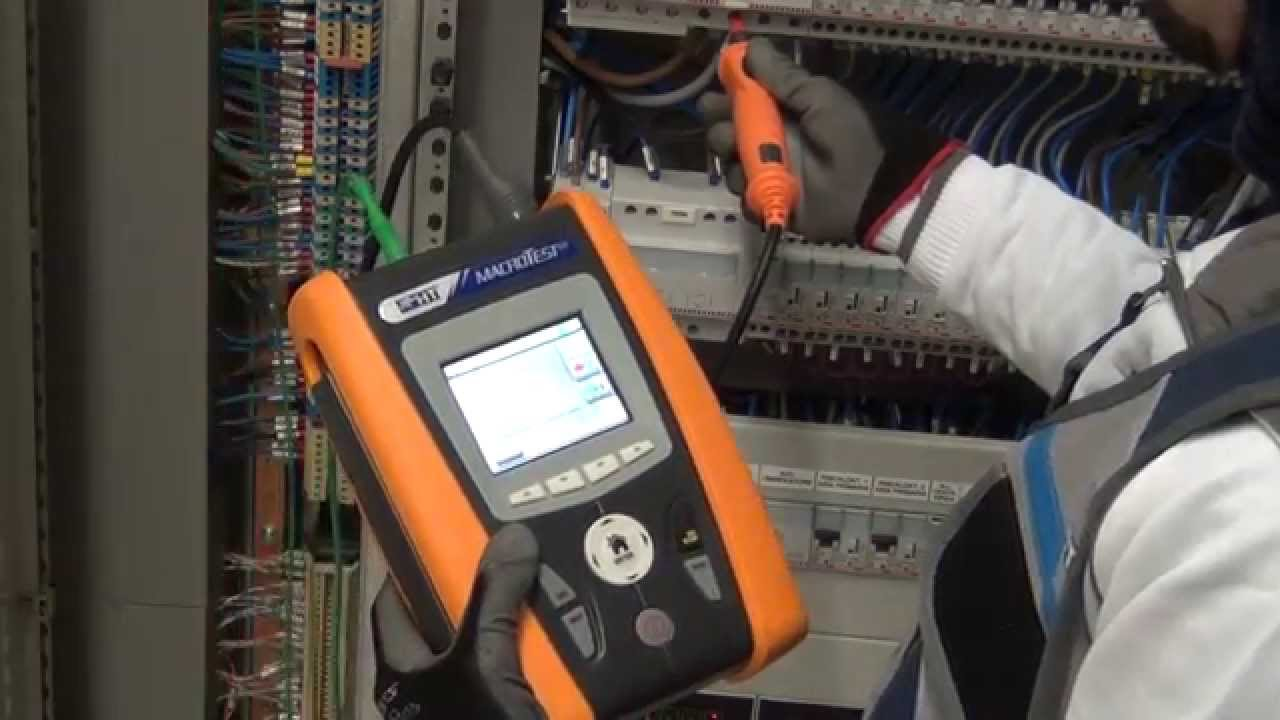 HT Instruments MACROTEST G3 Multifunction Tester Testing electrical  installation