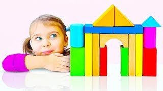 Learn Colors With Toy Bricks | Baby Puzzle Learning | Children Education Video thumbnail