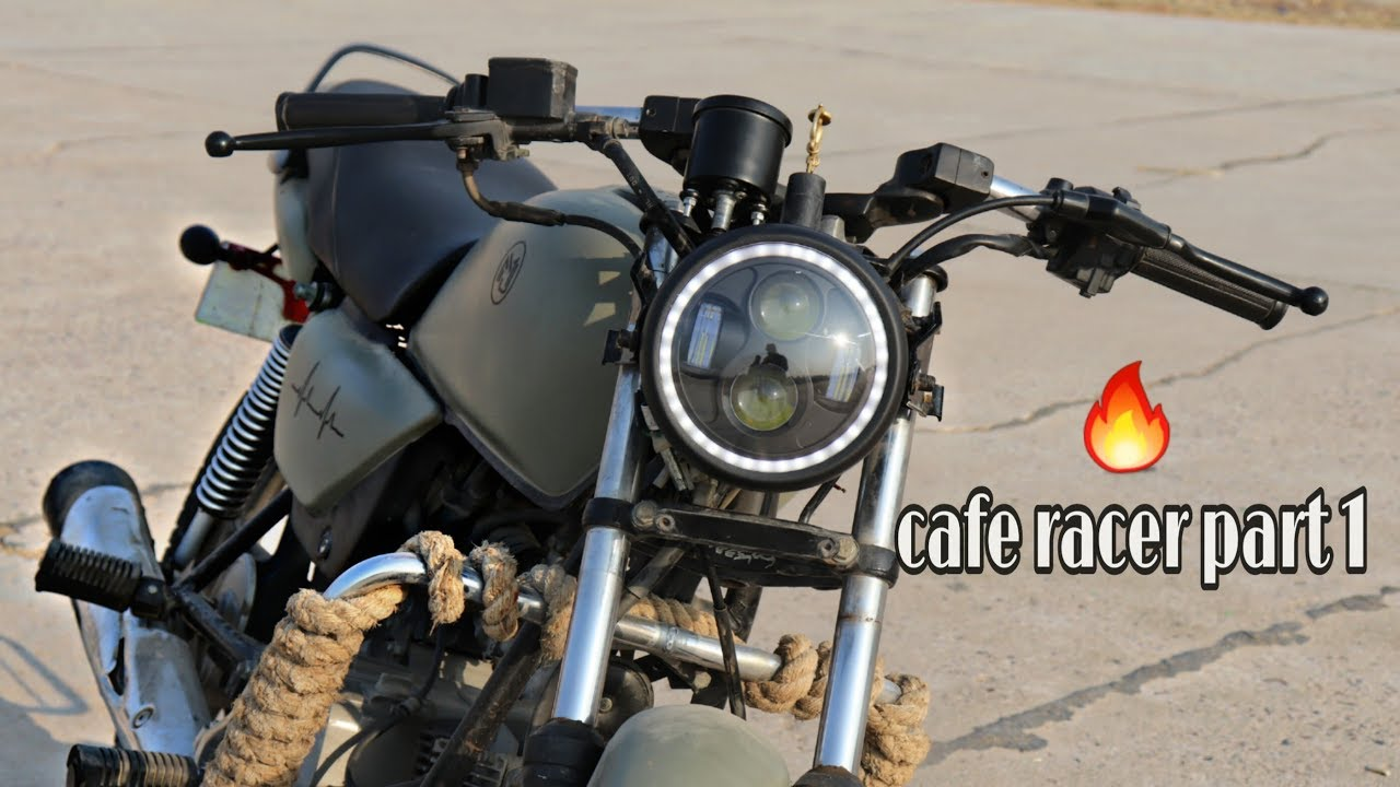 Motorcycle Cafe Racer Cob Led Projector